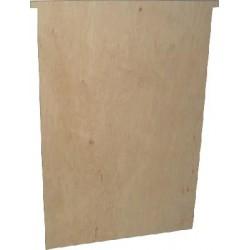 Przegroda wielkopolska drewniana